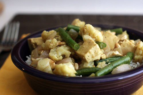 Cashew Coconut Curry