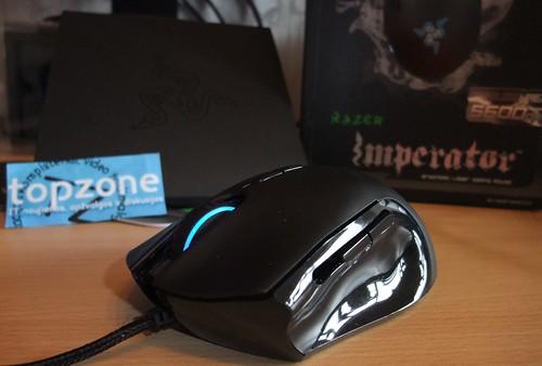 Razer Imperator žaidimų pelės apžvalga