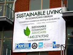 sustainable living banner (by: Sustainable Community Associates)