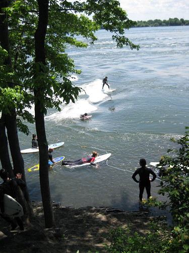 Montreal Surf Spot