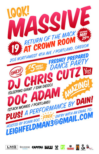 MASSIVE_19 @ Crown room, Portland