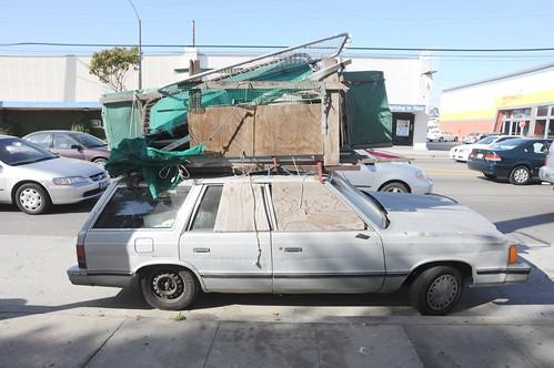 Venice Homeless Car Living