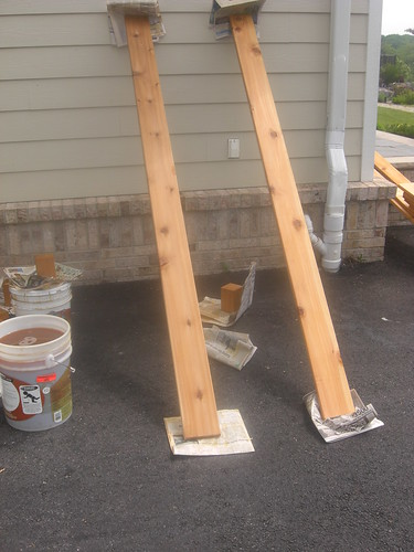 Sealing Cedar Boards with Weather Bos