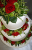 fresh flowers wedding cake (SP Cakes) Tags: birthday new wedding cambridge cakes cake designer divine zealand waikato