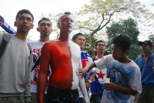4654159743 57959fb8b6 Foto   foto Aremania di Senayan