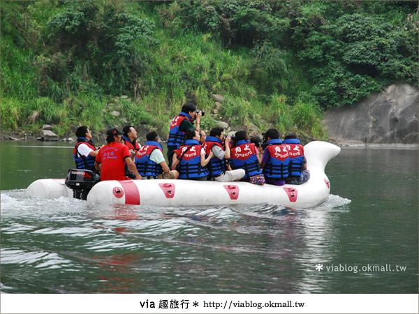 【花蓮旅遊】暑假玩花蓮最消暑的玩法~秀姑巒溪泛舟啦!23