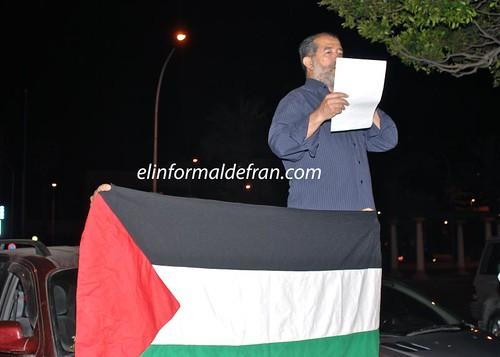 Concentración contra Israel por la matanza en la flotilla Humanitaria
