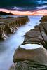 Soldiers Beach Crater (-yury-) Tags: ocean longexposure morning sea lighthouse seascape clouds sunrise landscape rocks waves australia crater centralcoast norahhead supershot soldiersbeach abigfave