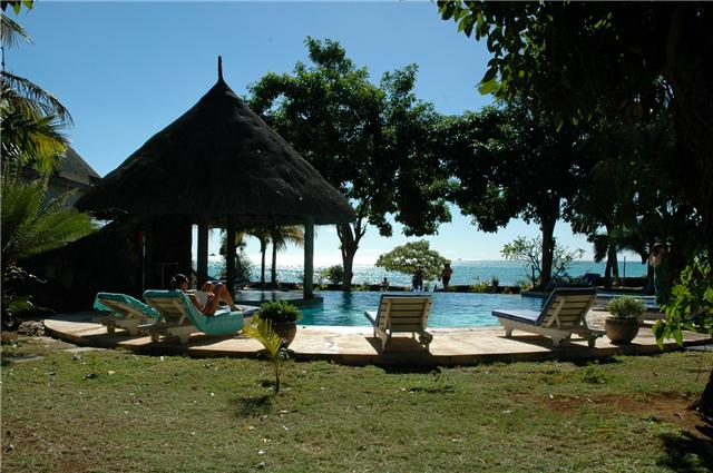 Luxury En-Suite Apartments and Villas with pool and right next to the Sea Mont Choisy Mauritius by LlewelynPritchard