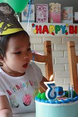 3rd Birthday - thomas cake