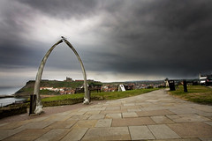 Whale Bone (Tom Stamp | Photography) Tags: sky storm abbey canon landscape eos pier angle wide dramatic whitby whale bone whalebone sigma1020mm 40d canoneos40d tomstamp