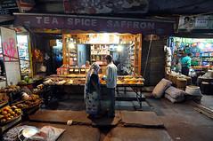 Delhi night market (Steve Bahcall) Tags: travel india asia delhi nightmarket hindi tokina1116mmf28