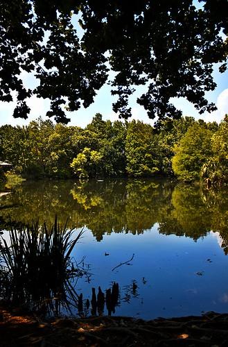 hilltop lake on Flickr