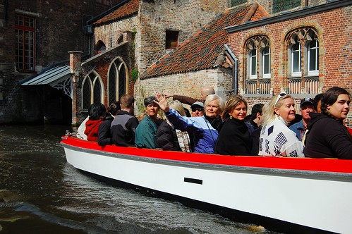 Tourists in a Boat