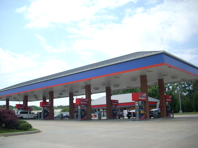 A raceway gas station and convenience store in Newport News, VA, on 341 Oyster Point Rd. This was formerly a racetrac that opened in 1999 and was converted