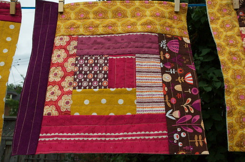 Quilt as you go block