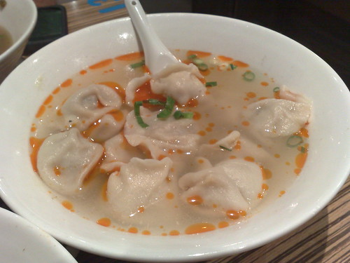 dumplings in hot and spicy soup
