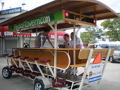 UrbanMlwaukee.com Vists the Pedal Tavern