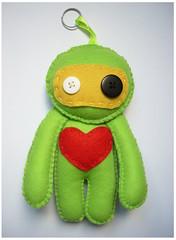 amor robtico (Cockroach  crafting and stuff ) Tags: love toys amor corao presentes bonecos promoo diadosnamorados lembrancinhas touart