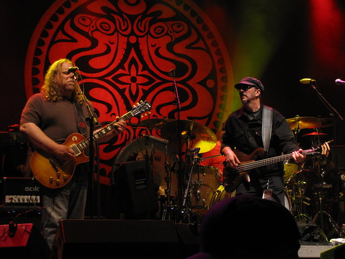 Warren Haynes with Les Claypool