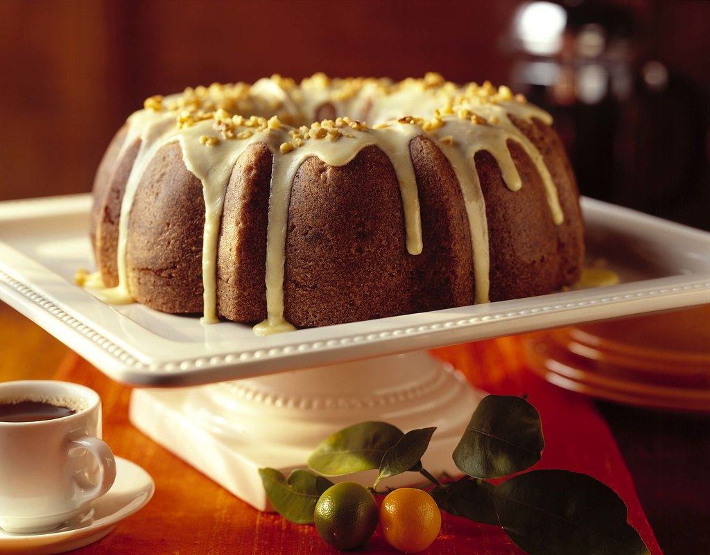 Holiday Cranberry-Beet Bundt Cake