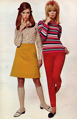 60s girl fashion (Simons retro) Tags: fashion magazine mod 60s 1960s seventeen
