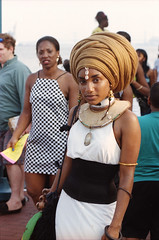 Caribbean Festival Penn's Landing Philadelphia Aug 16 1998 120 Stunningly Beautiful  Ethiopian Lady (photographer695) Tags: caribbean festival penns landing philadelphia aug 16 1998 stunningly beautiful ethiopian lady