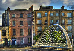 James Joyce Bridge (sbox) Tags: ireland dublin architecture modern buildings bridges liffey calatrava georgian hdr jamesjoyce thedead