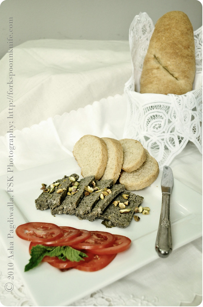 Chicken & Mushroom Terrine with Italian Bread 2
