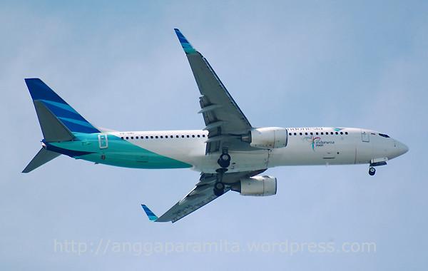 Garuda Indonesia Boeing 737-8U3(WL)