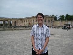 Dom est vraiment heureux d'être au Grand Trianon