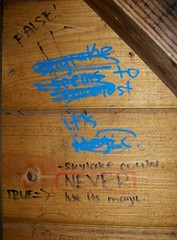 Cabin Graffiti