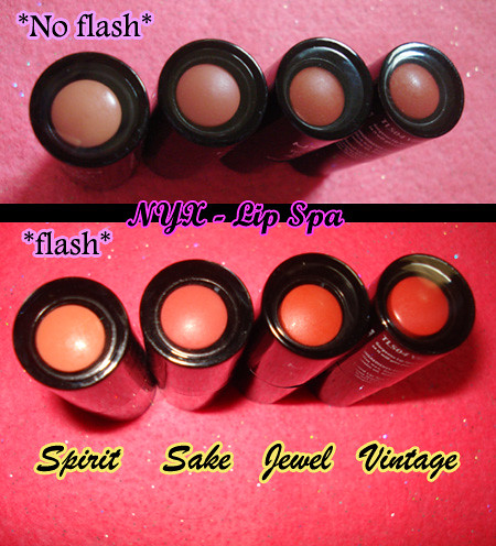 NYX lip spa caps