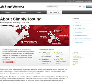 SimplyHosting Contact Information