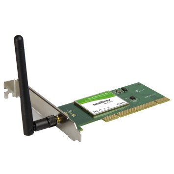 WPS 200 E - Placa de Rede PCI Wireless 108 Mbps
