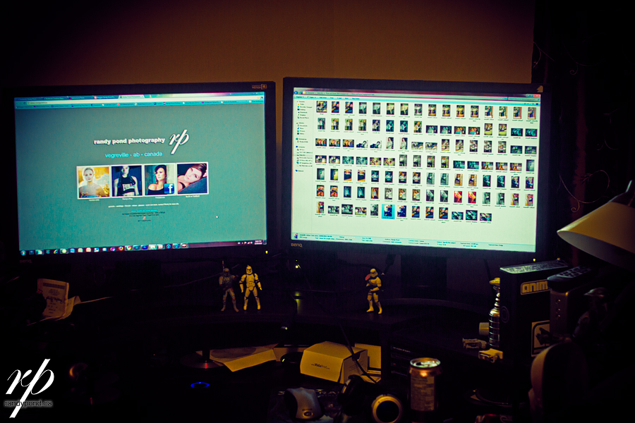 ~ 285/365 My Editing Station ~