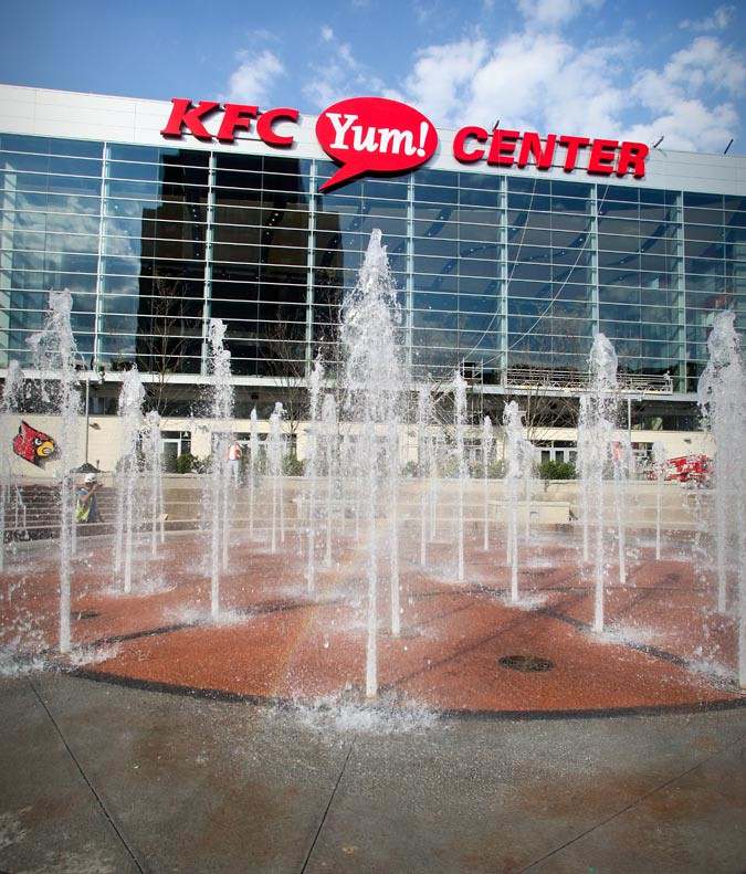 Louisville's KFC Yum! Center (Courtesy Louisville Arena Authority)