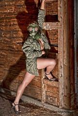 Contamination!XX (Fernando Farfan.ca) Tags: she sexy mujer eyes women legs skin ottawa mulher ella her sensual conceptual hdr contamination    nakedunderthejacket