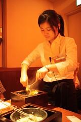 rice on hot pot