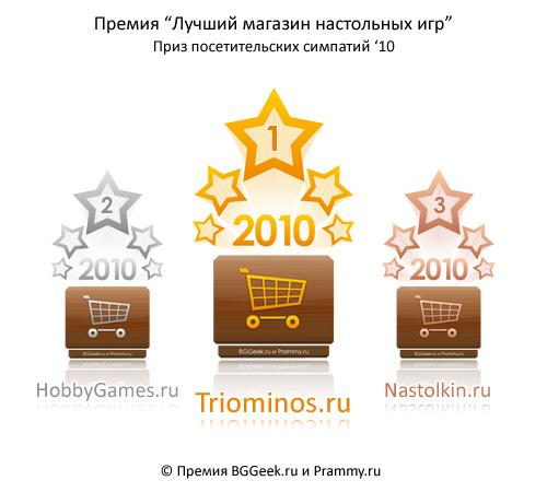 Премия BGGeek.ru и Prammy.ru