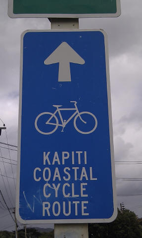Kapiti Coast cycle route