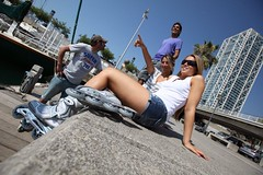IMG_2598 (Rollerblade) Tags: barcelona girls boy kids action wheels spitfire brake inline rollerblade tempest product fitness spark protection learn rolling skates crossfire 2011 schooting