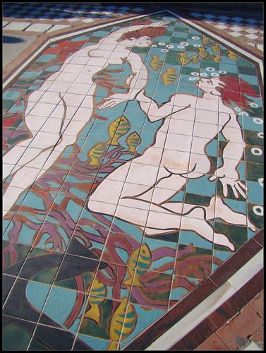 Mural suelo Paseo Marítimo