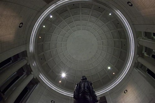 Jefferson memorial fisheye