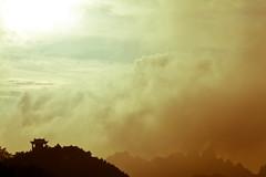 黄山 (Rogerism2016) Tags: china travel sunset summer sky mountain clouds scenery dusk 中国 黄山 风景 2010 黄昏 安徽 canon5d2