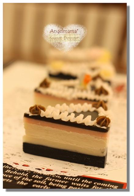 天使媽媽夾心幕斯蛋糕皂6