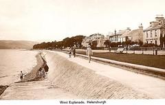 Dunbartonshire, Helensburgh, West Esplanade 1940's