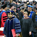 Ashish Vaidya as part of procession at Commencement