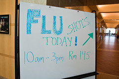 A Flu Shot in the Company of Engineers