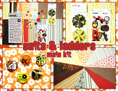 *Suits & Ladders* Collage